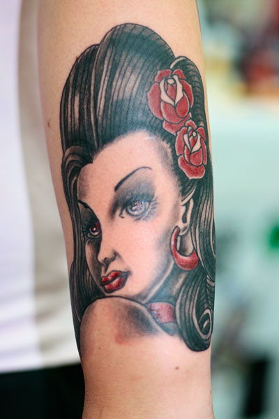 Tatuoinnit / Tattoos » classic lady tattoo