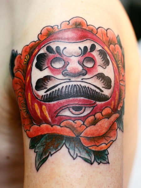 Tatuoinnit Tattoos daruma peony tattoo
